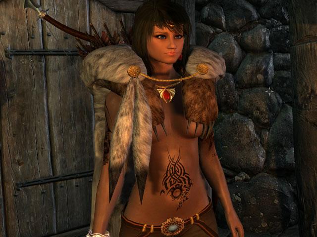 Скайрим сексуальная броня для женского персонажа